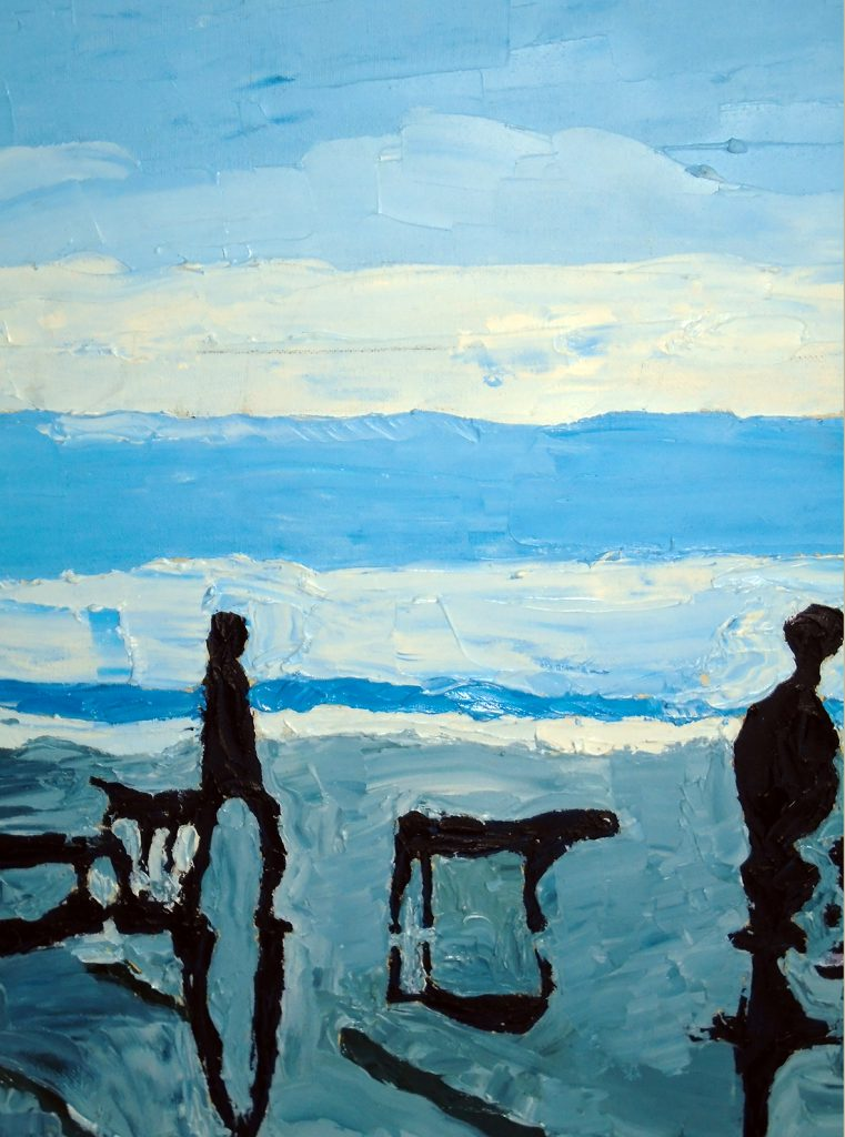 Silhouettes Oil on canvas 30x40 £150