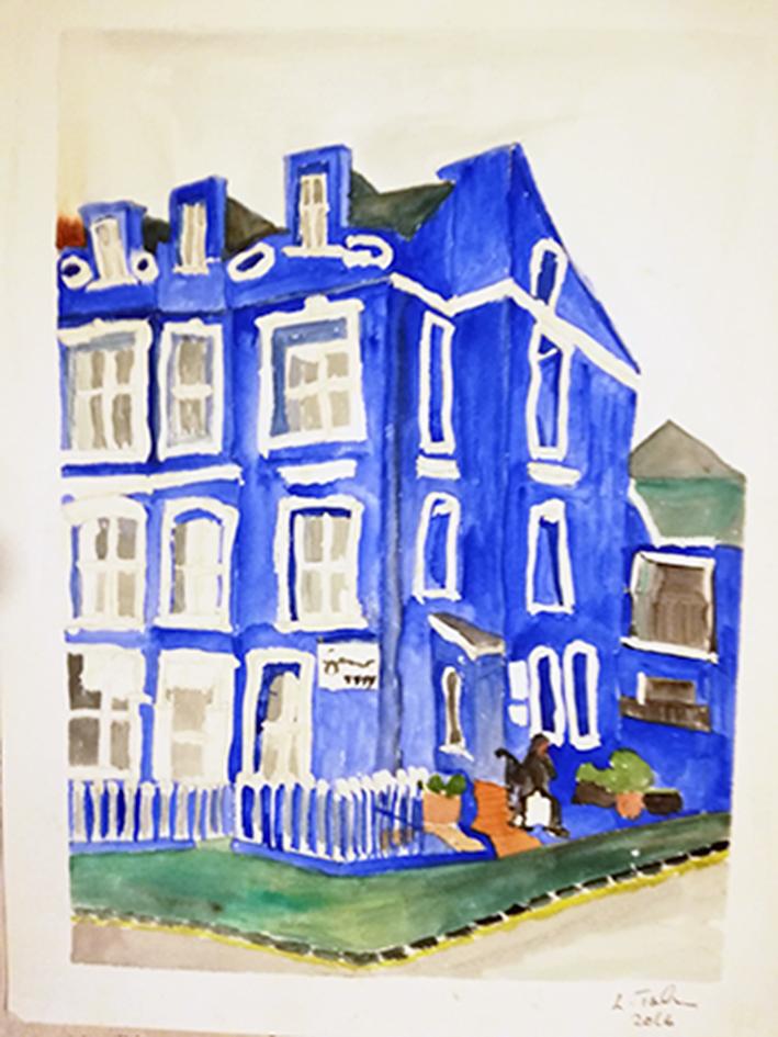 Esplanade Hotel Tenby print 28x-36cm £25